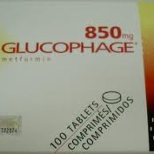 Glucophage 850mg