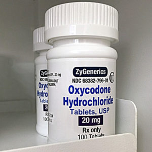 Oxycodone 20 mg (100 pills)
